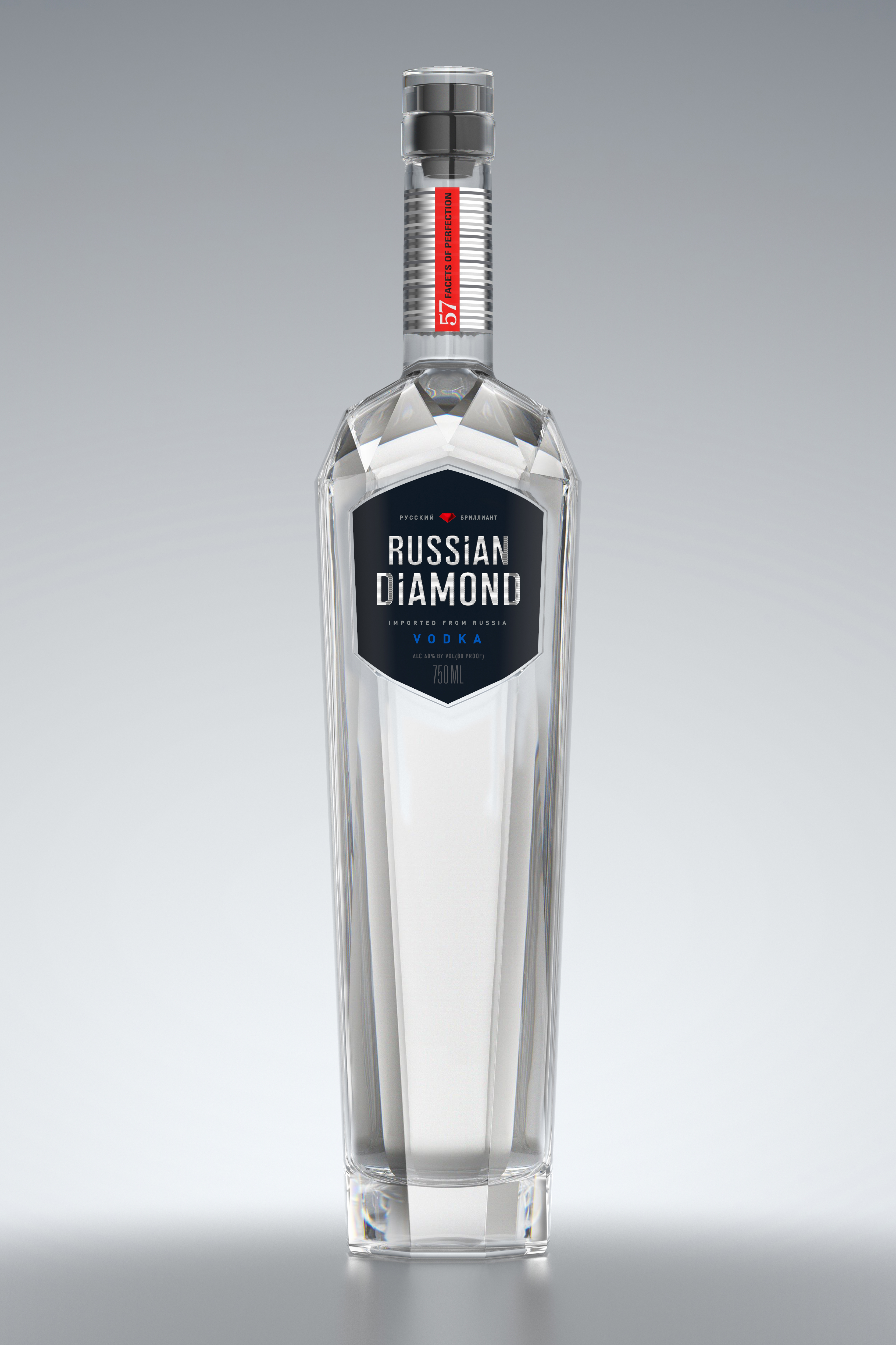 Review russian diamond vodka drinkhacker for Italian cocktails with vodka