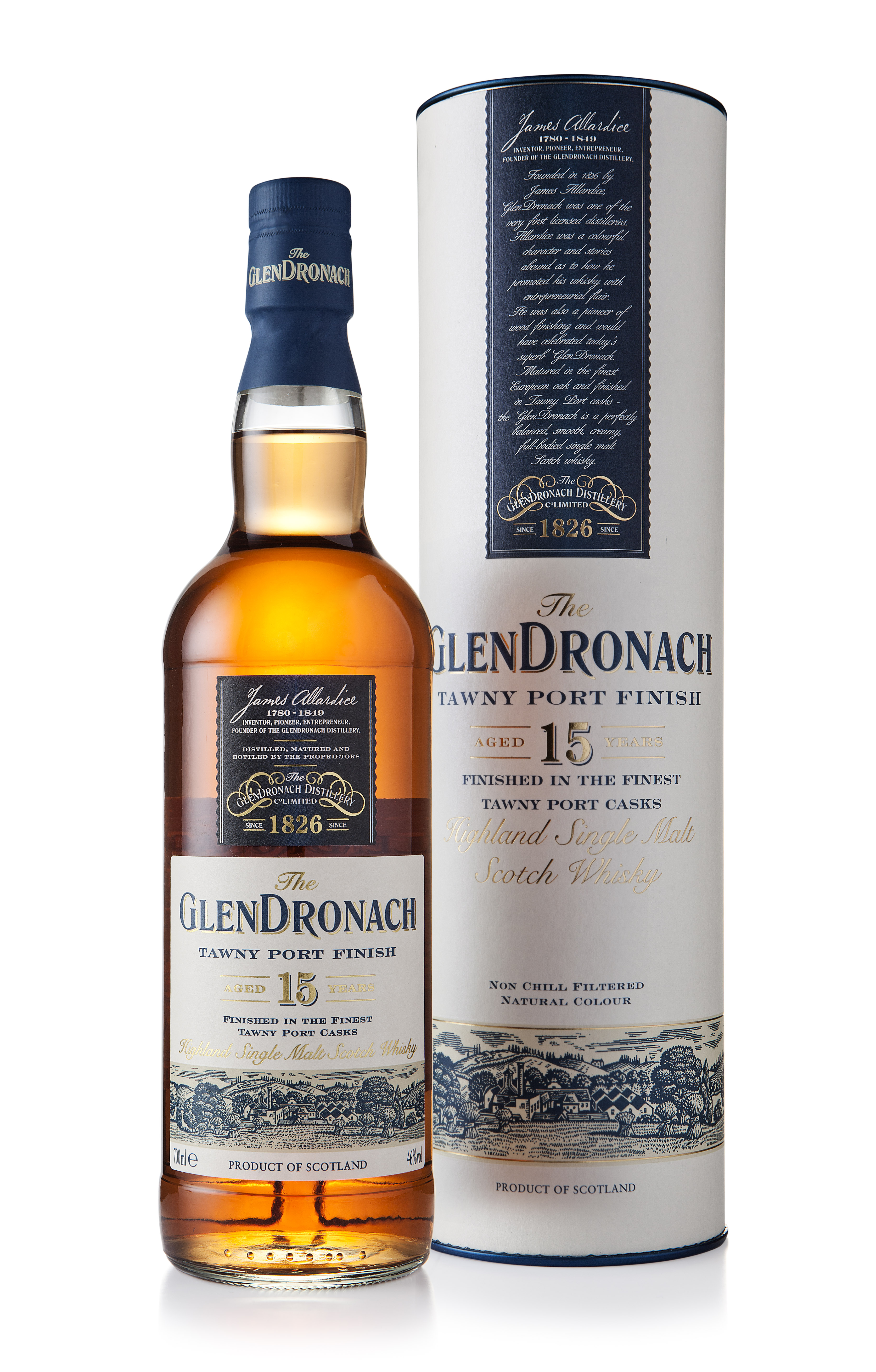 Review: GlenDronach Tawny Port Wood Finish 15 Years Old
