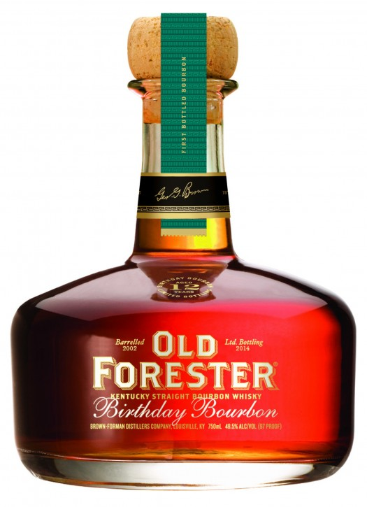Review Old Forester Birthday Bourbon 2014 Edition