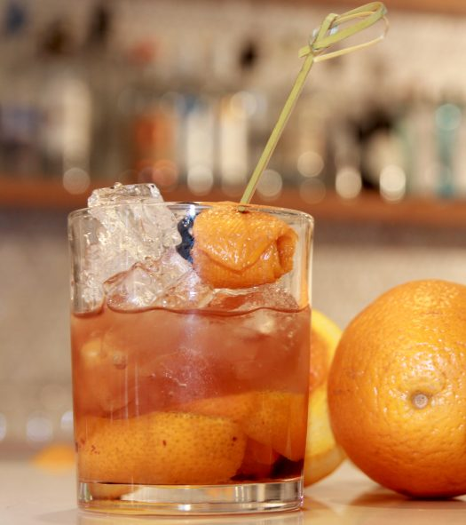 Old Fashioned Drink Recipe With Gin