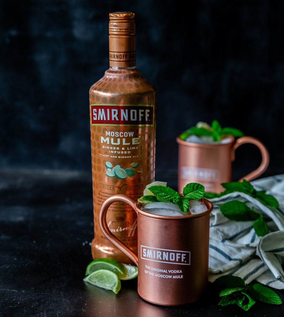 Smirnoff Moscow Mule Ginger Lime