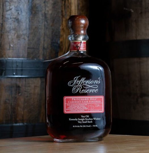 Jefferson's Reserve Pritchard Hill Cabernet Cask-Finished Bourbon